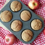 Quick and Easy Applesauce Muffins