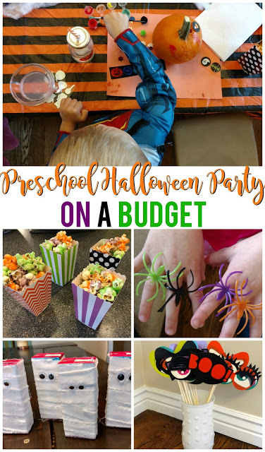 preschool halloween party on a budget