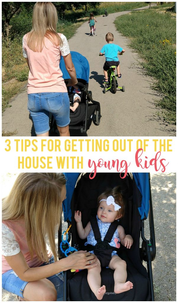 Getting out of the house with young kids can be so hard, but these 3 tips make it so much easier.