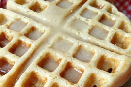 These Belgian yeast waffles are dense, flavorful and worth the extra time it takes the batter to rise before cooking them to golden perfection.
