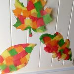 Easy Contact Paper Leaf Suncatchers