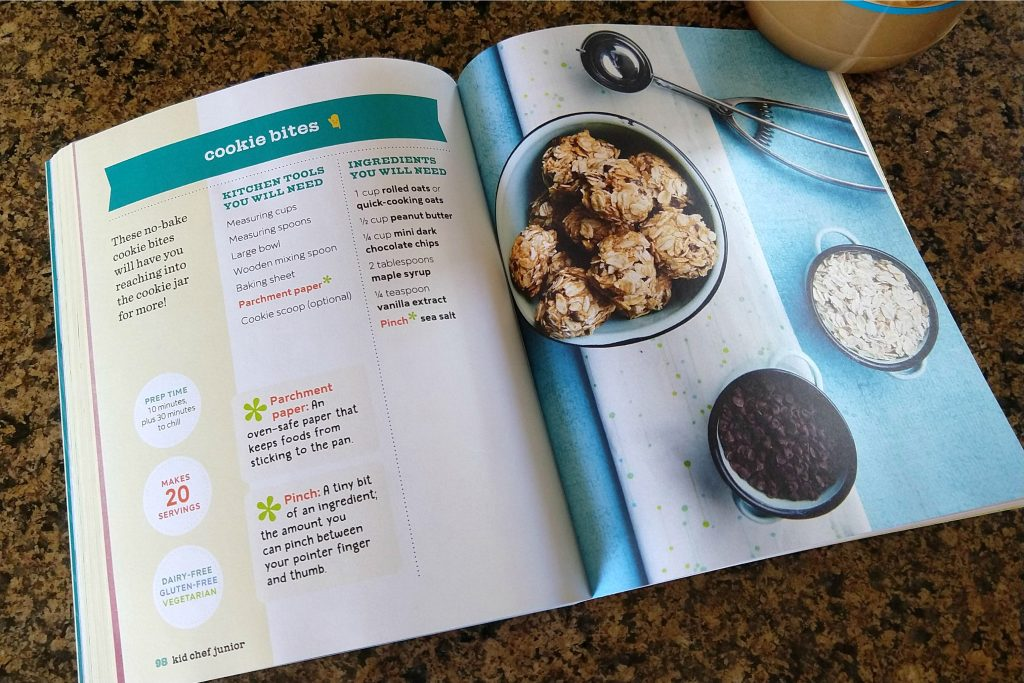 Kid Chef Junior cookbook review: A great gift for the little chef in your life!