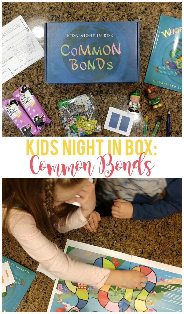 Our kids love getting their monthly subscription box from Kids Night In!