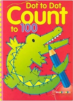 Dot to dot book that counts up to 100. Great for older kids.