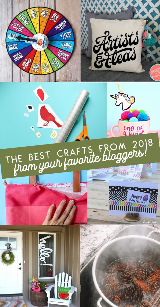 27 of the best crafts of 2018 from your favorite craft bloggers!