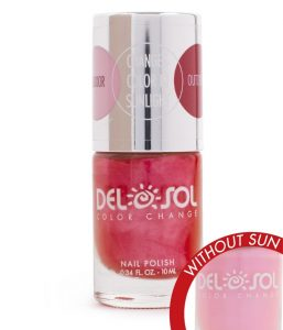Del Sol color changing nail polish is fun for all ages!