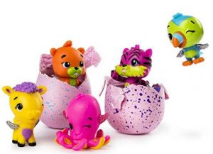 Hatchimals CollEGGtibles are a lot less expensive than the popular larger Hatchimals.