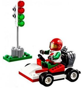Build a cool race car with this mini Lego set