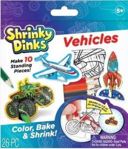 Shrinky Dinks are so fun to create and watch shrink in the oven.