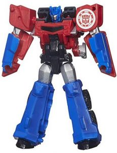 These smaller Transformers are great for younger kids because they don't have as many steps in the transformation process.