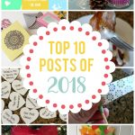 Find out what the top 10 most popular posts were on Sunshine and Munchkins in 2018!