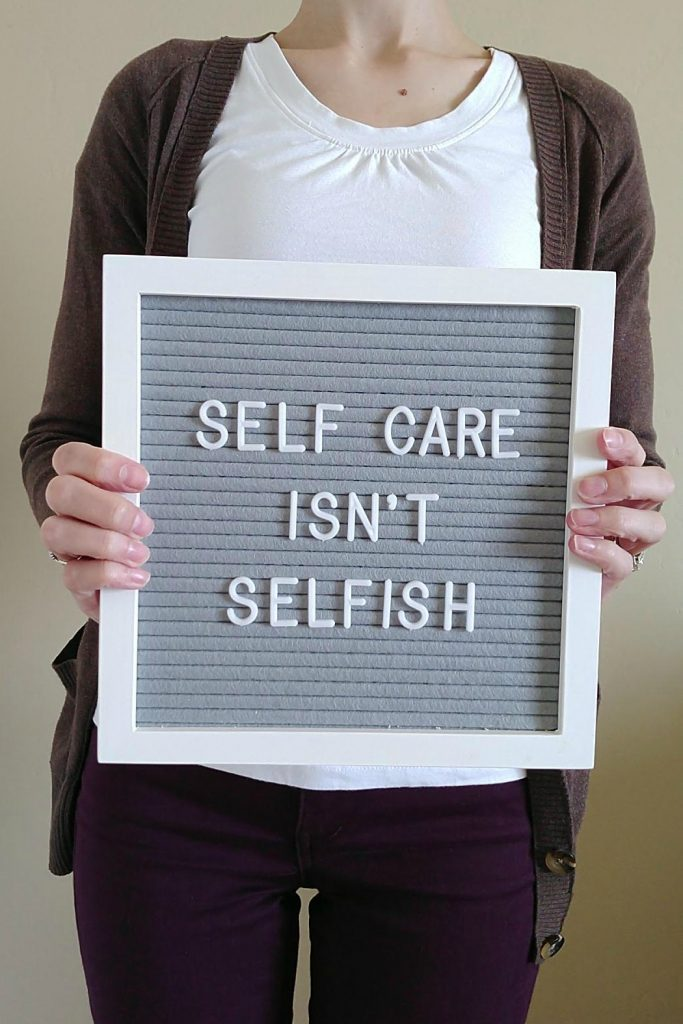 Protecting your self care time is not only important--it's essential to your health.