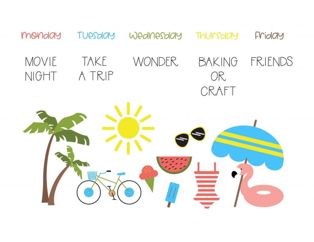We love having a summer schedule to help us plan our days and weeks and make the most of our summer together! Check out this free summer schedule printable to help you do the same.