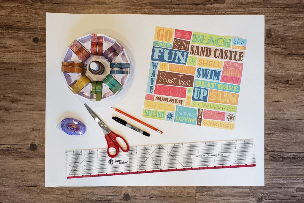 Summer is the perfect time to make and check items off your bucket list! Click through to see how to make a giant bucket list poster where you can record and mark off your fun summertime activities.