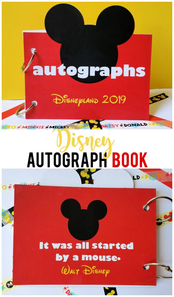 Best Crafts of 2019 all in one post-  Disney Autograph Book