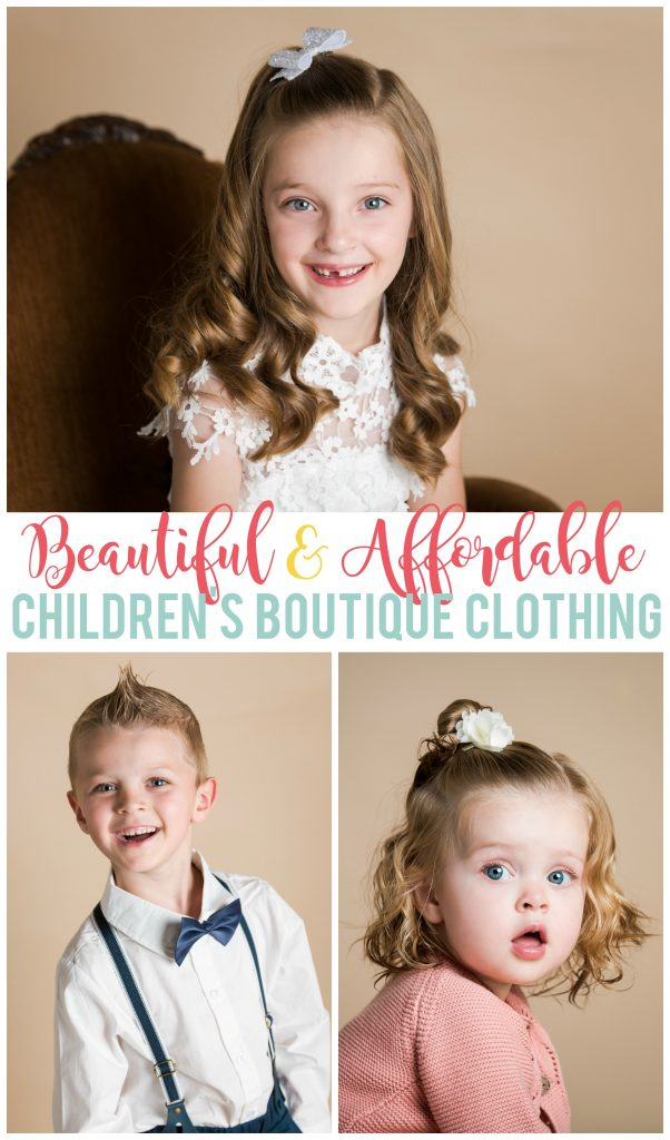 Pirate Bunny Boutique has the cutest kids clothes that are perfect for dressier occasions and pictures.  They are so affordable!