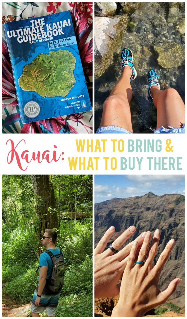 Knowing what to bring with you and what you should wait to buy on your Kauai vacation will help you save time, money and space in your suitcase!