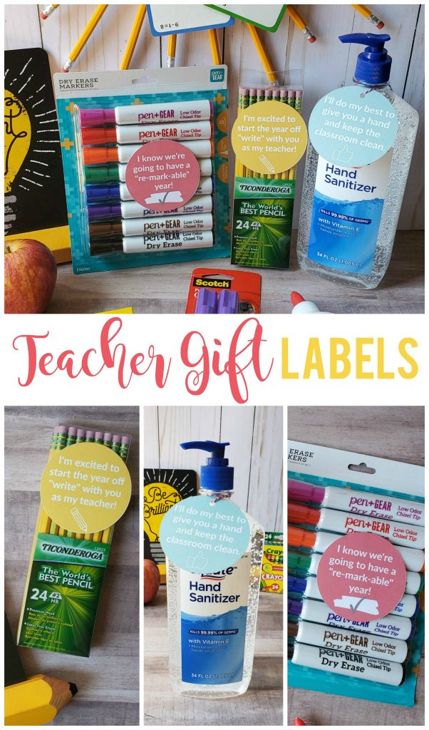Teacher gifts don't have to be complicated or expensive in order to be appreciated!  I've made giving a teacher gift quick and easy with these cute printables.