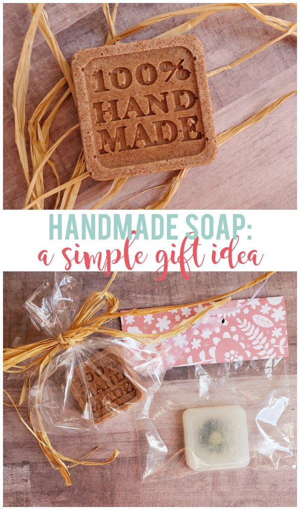 Handmade soap is an easy gift that doesn't require a lot of time or complicated materials to make. Includes 2 cute ways to wrap up your soap as a gift!