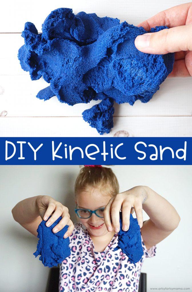 Best Crafts of 2019 all in one post- diy kinetic sand