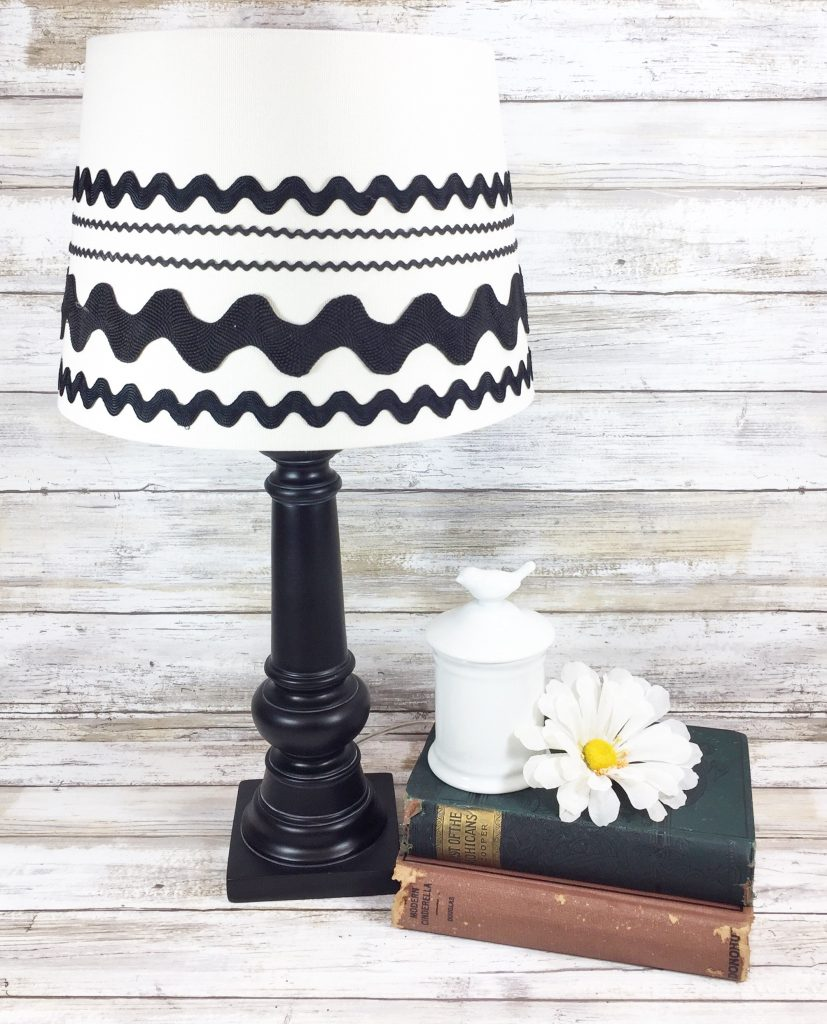 Best Crafts of 2019 all in one post-  upcycled farmhouse lamp