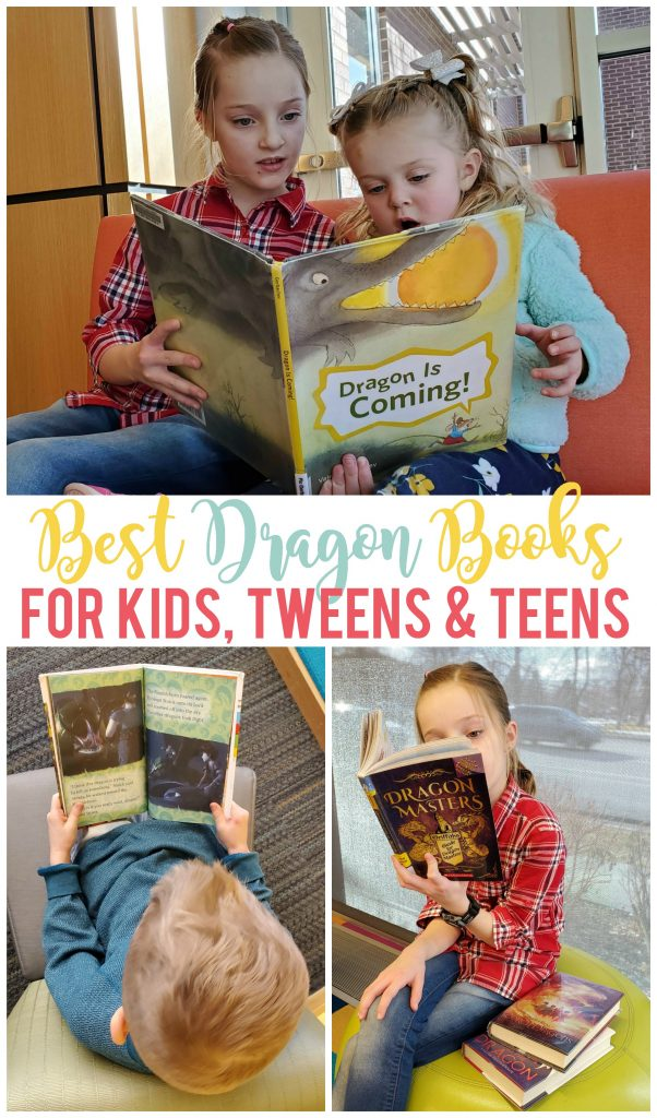 Whether you believe dragons are real or not, there are plenty of dragon books based on these mythical creatures for children, tweens, teens and even adults to enjoy!  January 16 is Appreciate A Dragon Day and you can do just that by incorporating a little bit of dragon fun into your kids day through books.