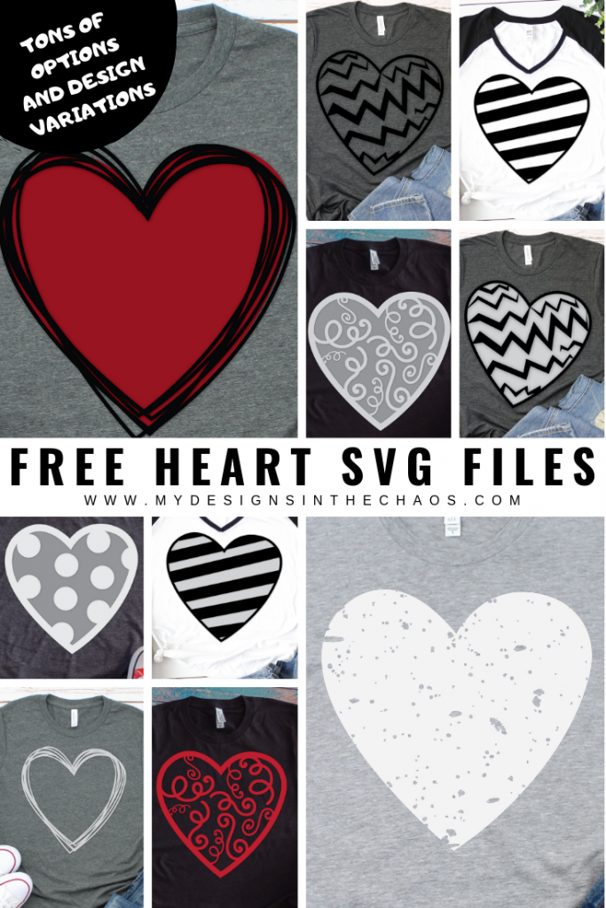 Best Crafts of 2019 all in one post- heart svgs