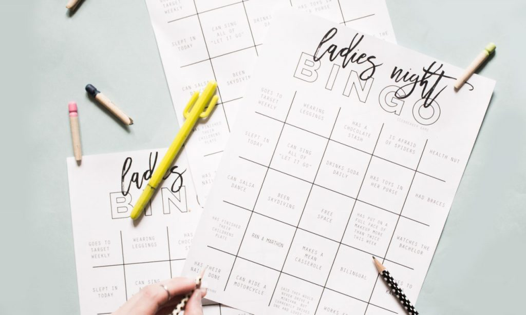 Best Crafts of 2019 all in one post- bingo ice breaker printable