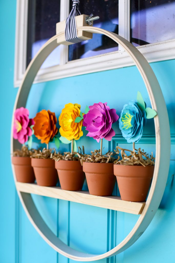 Best Crafts of 2019 all in one post- mini flower pot wreath