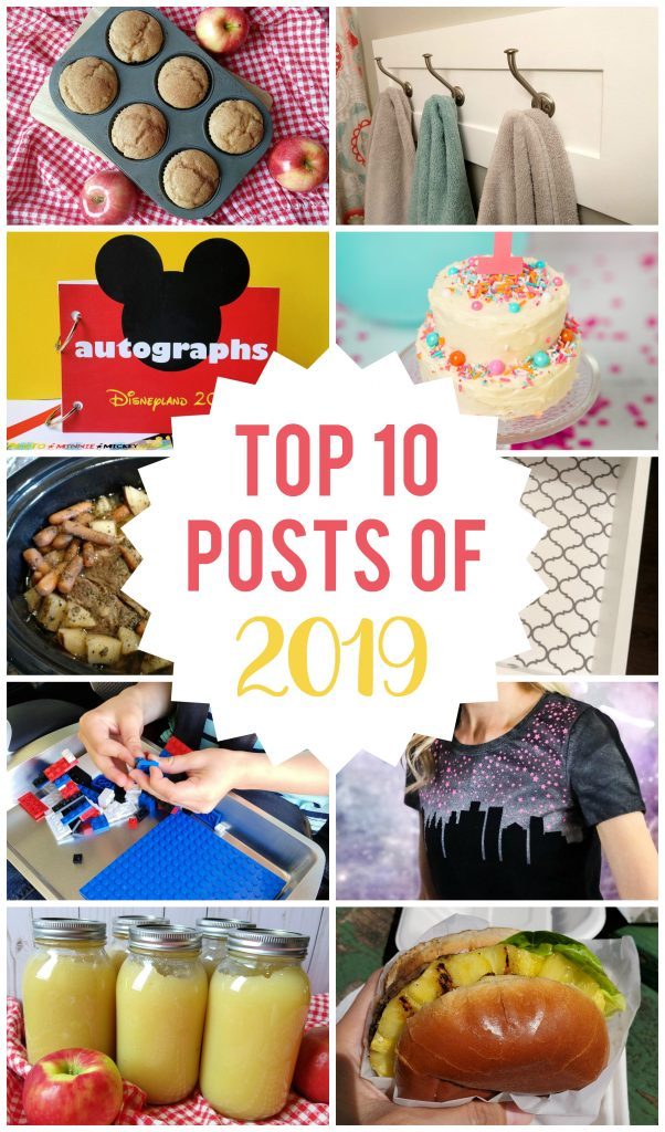 The top 10 most visited posts on my blog from 2019!  You don't want to miss number 1!