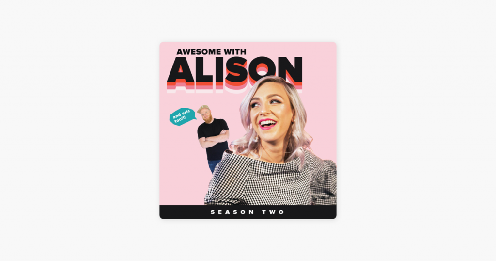Awesome with Alison Podcast--Everyone wants to be happier and these 6 podcasts are sure to give your happiness a little boost!