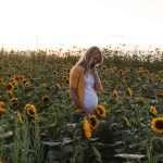 Sunflower Festival Maternity Photo Shoot
