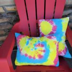 DIY Tie Dye Pillows {From A Tote}