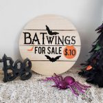 Bat Wings for Sale {Free Halloween SVG}