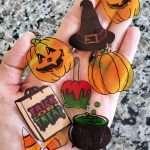Easy DIY Shrinky Dinks Halloween Magnets