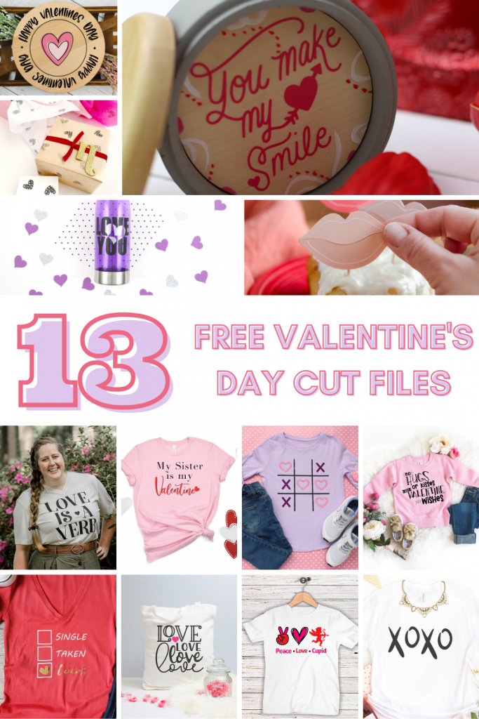 Share your relationship status with tacos this Valentine's Day with a FREE Valentine's SVG file!  Plus grab 12 other free cut files!