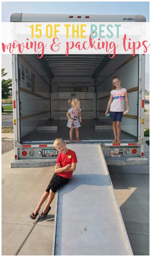 Whether you are moving for the first time, or are a seasoned pro, I'm here to share a list of 15 of the most helpful moving and packing tips.