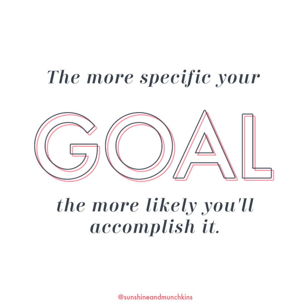 Setting goals will get you closer to who you want to be because they are specific and actionable, where resolutions are vague and unclear.