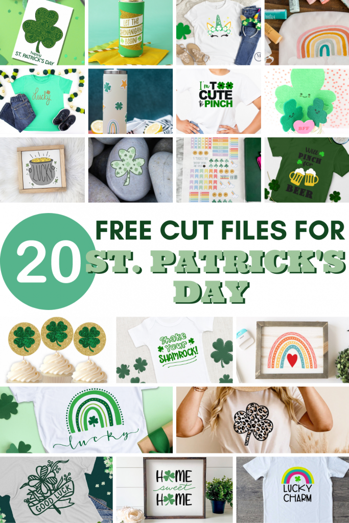 {FREE} 20 of the best St. Patrick's Day SVG files