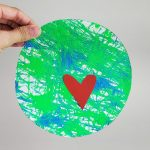 Earth Day Marble Painting Kids Craft