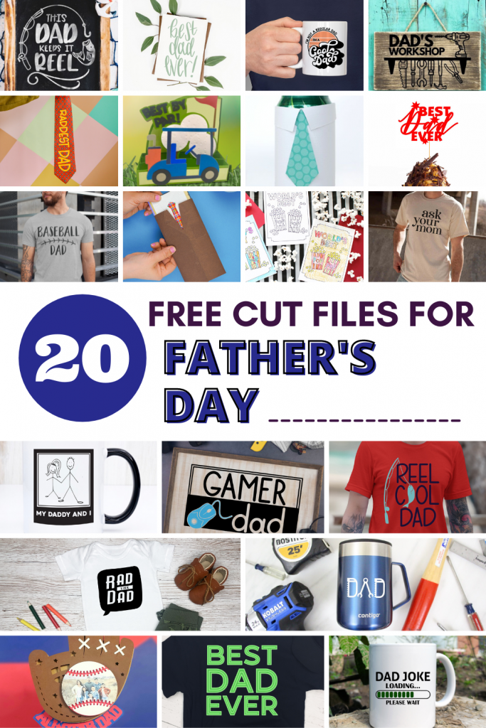Celebrate the dads in your life with these 20 free Father's Day SVG files!