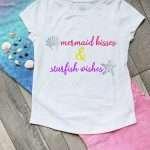 {FREE} Mermaid Kisses and Starfish Wishes SVG