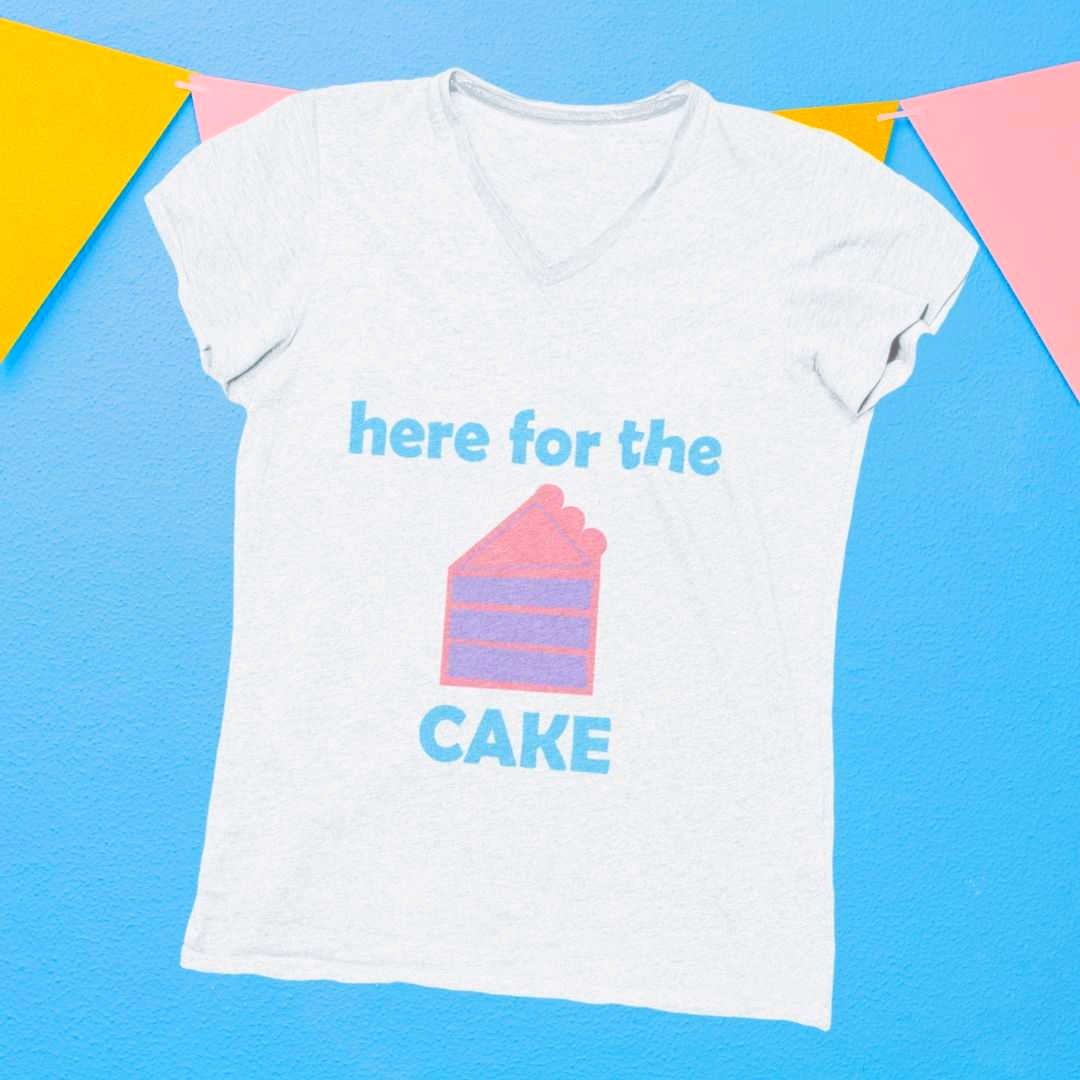 Here for the Cake {FREE} Birthday SVG